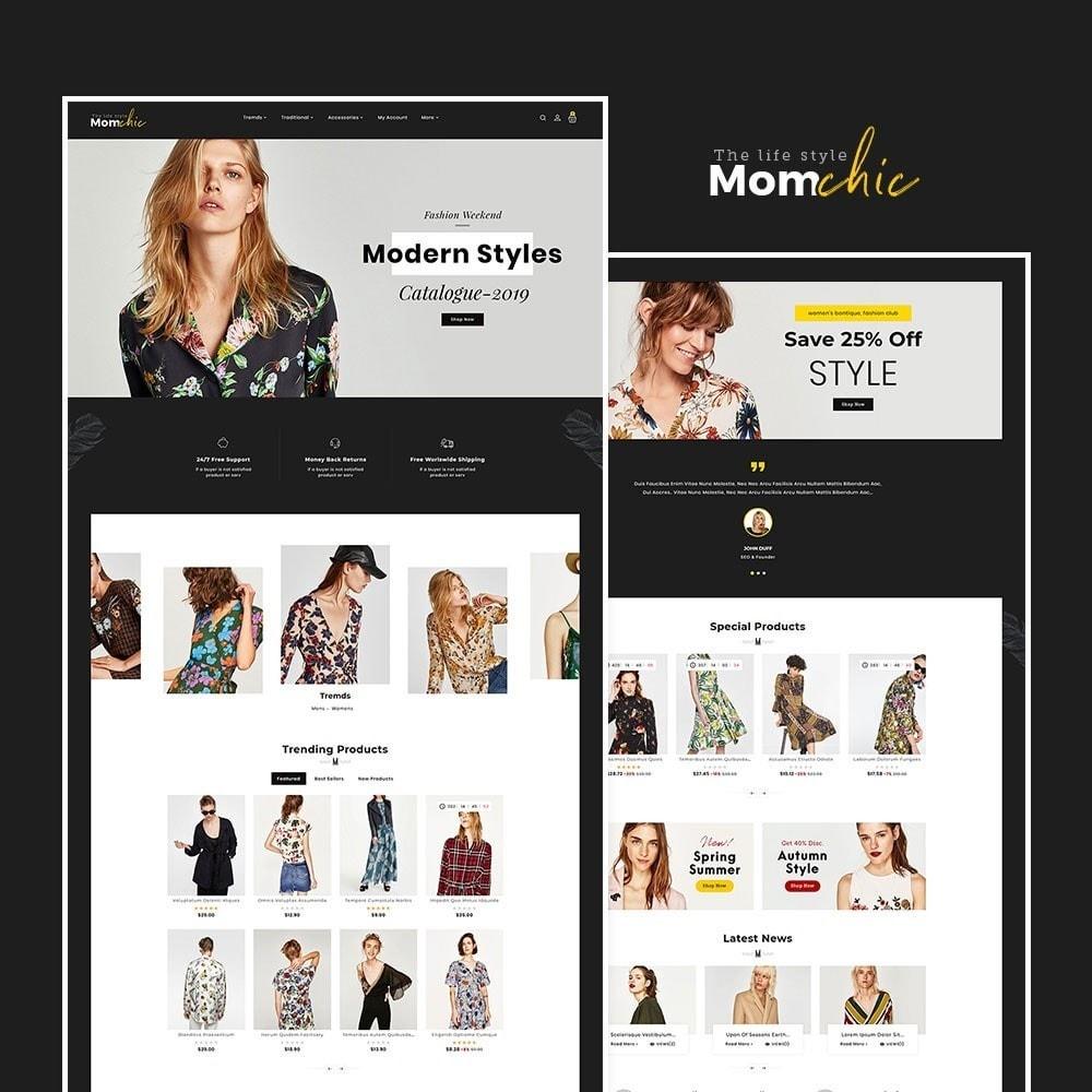 theme - Fashion & Shoes - Mom Chic - Fashion Clothes - 2