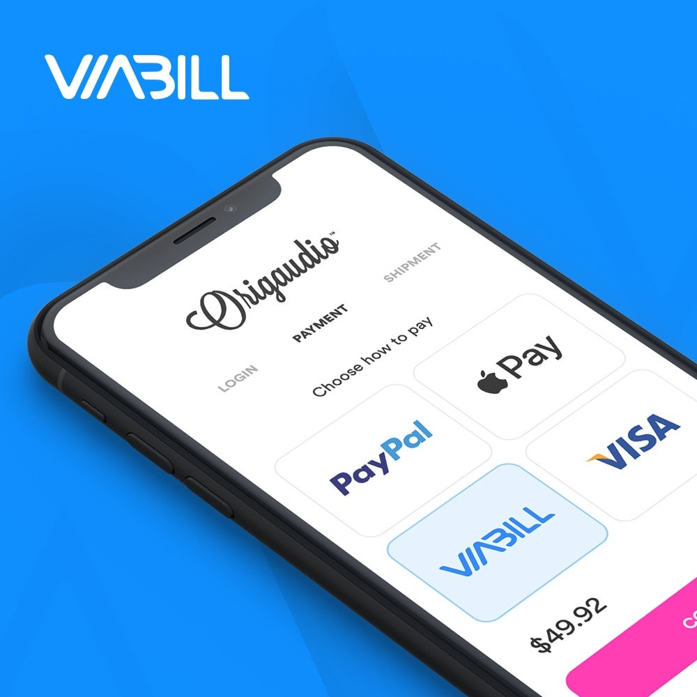 module - Pagamento con Carta di Credito o Wallet - ViaBill Official – Try, before you buy! - 1