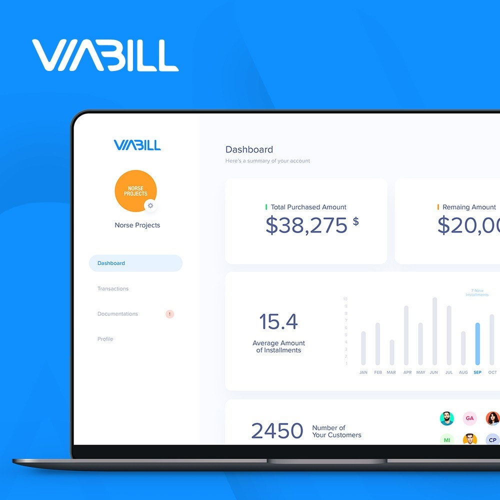 module - Payment by Card or Wallet - ViaBill – seamless financing! - 4