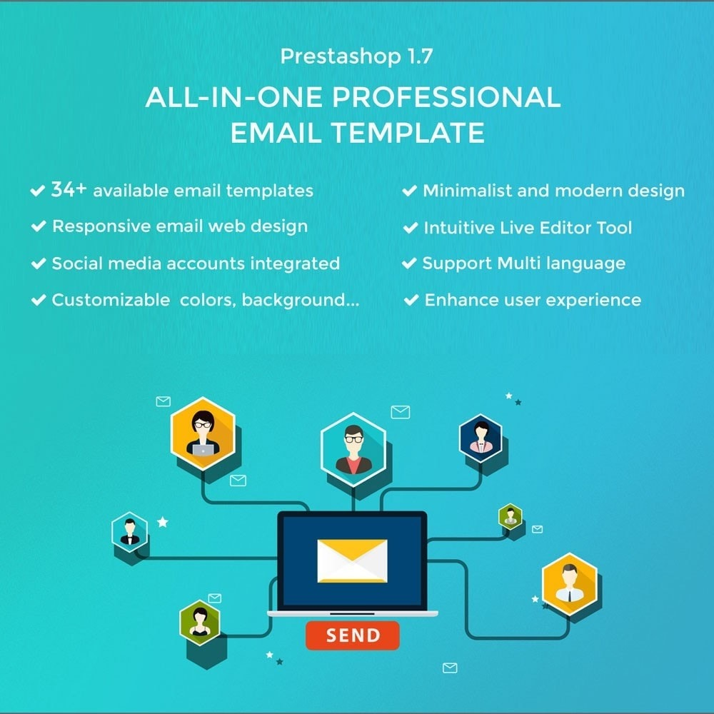 email - Email templates PrestaShop - Kool - Premium Email Template - 1