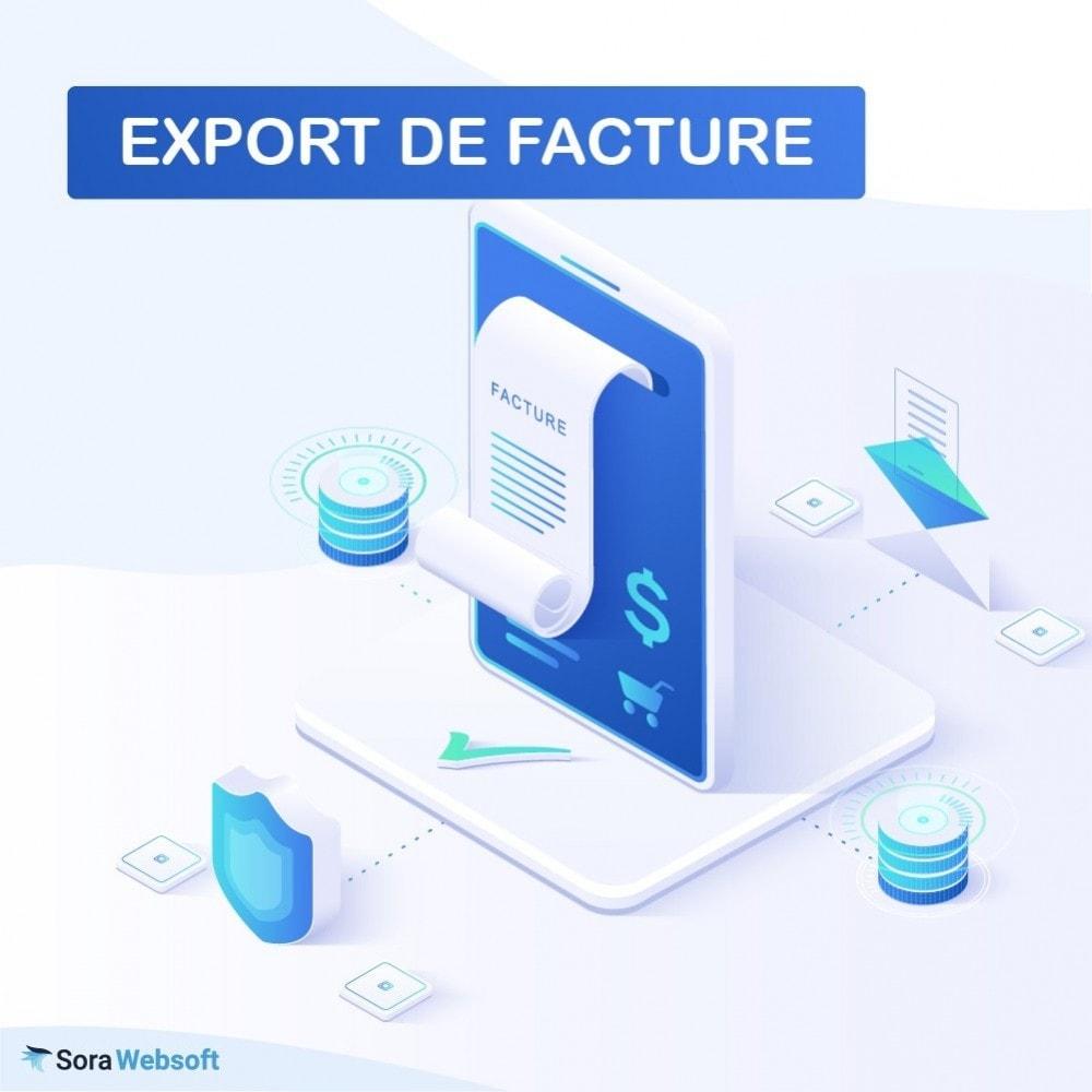 module - Comptabilité & Facturation - Export de Facture - 1