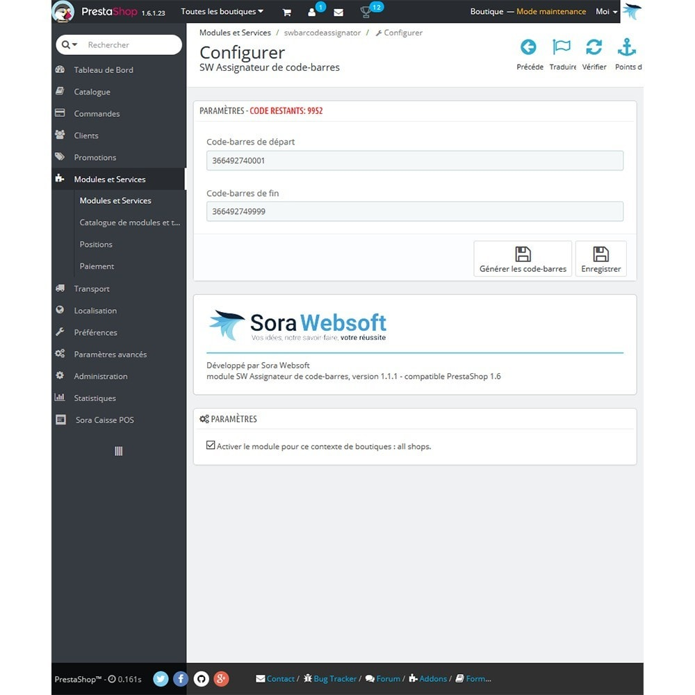module - Marketplaces - Générateur de code barre - 2