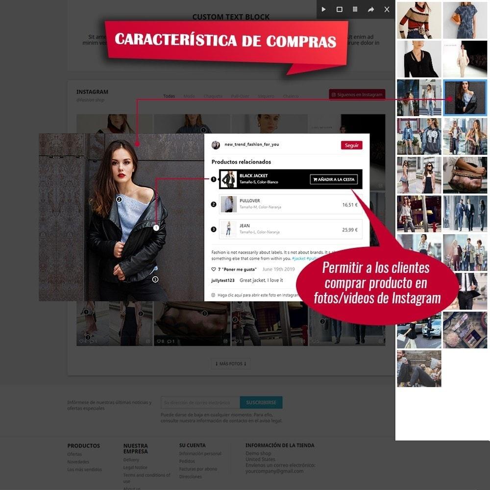 module - Sliders y Galerías de imágenes - INS Shopping Slider - Integración de redes sociale - 3