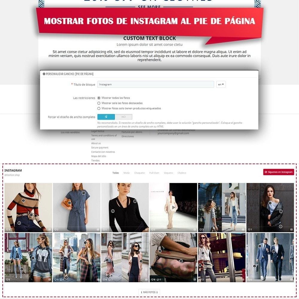 module - Sliders y Galerías de imágenes - INS Shopping Slider - Integración de redes sociale - 8