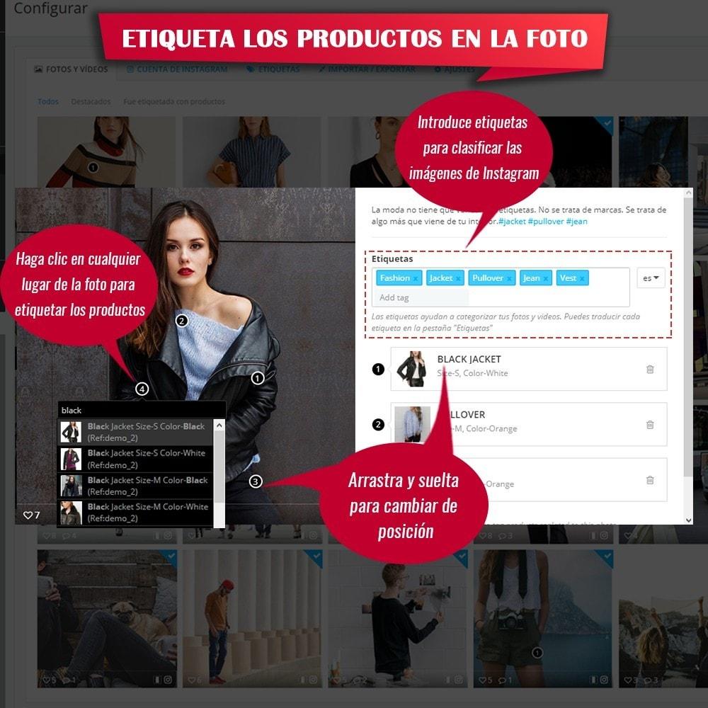 module - Sliders y Galerías de imágenes - INS Shopping Slider - Integración de redes sociale - 13