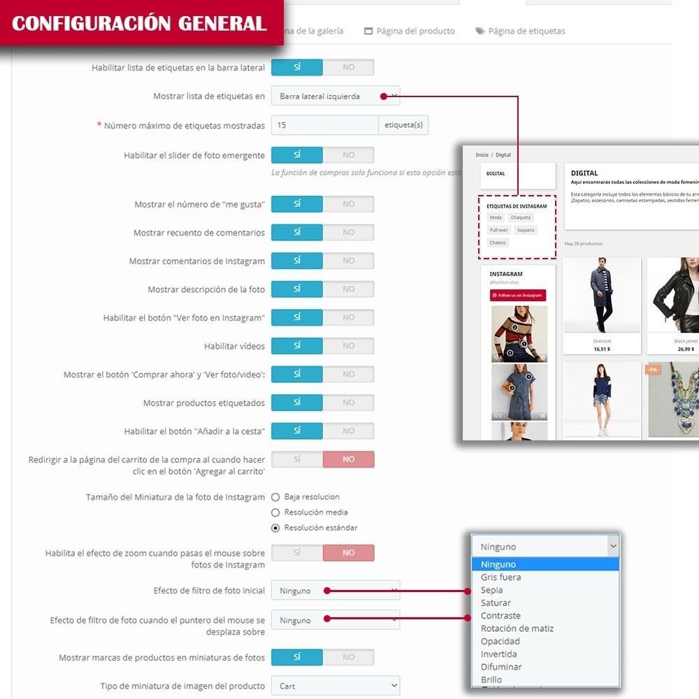 module - Sliders y Galerías de imágenes - INS Shopping Slider - Integración de redes sociale - 14