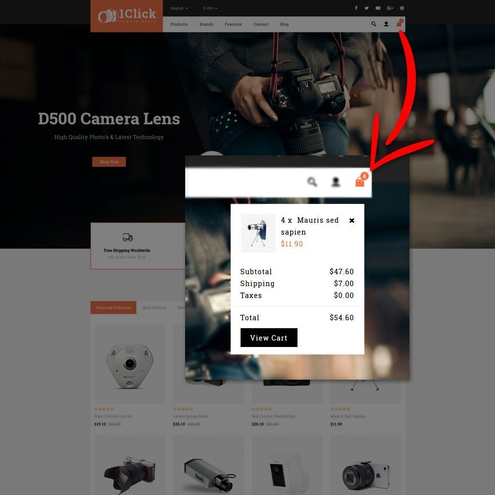 theme - Электроника и компьютеры - Click Camera Store - 8