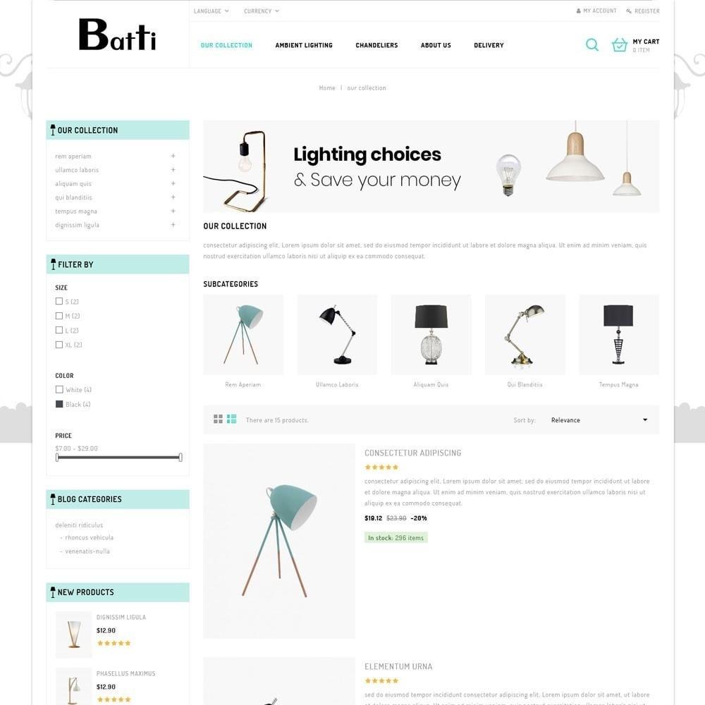 theme - Maison & Jardin - Batti - Le magasin de luminaires - 6