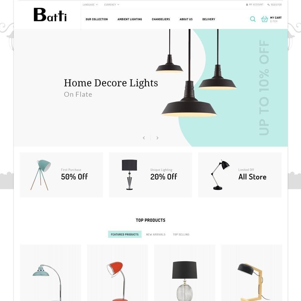 theme - Hogar y Jardín - Batti - La tienda de iluminación - 3