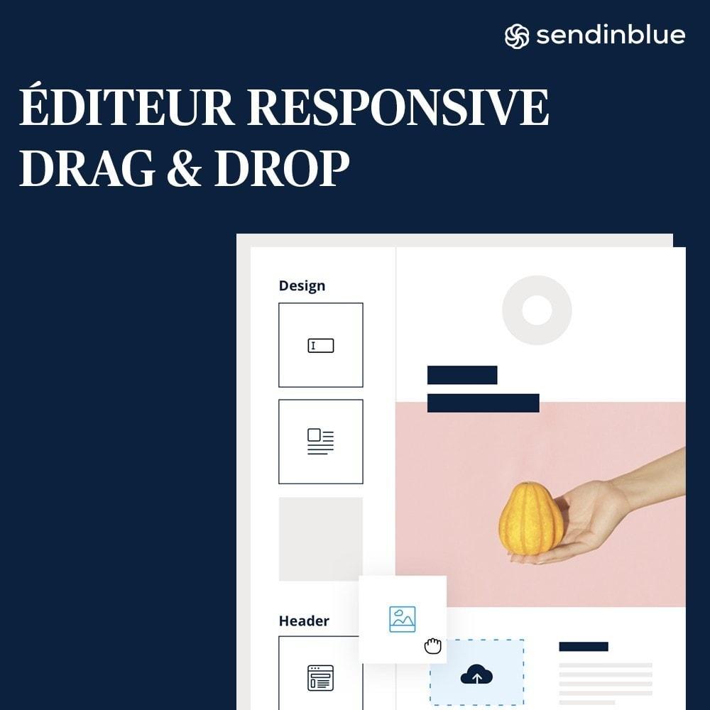 module - Promos & Marketing - Sendinblue - Email Marketing & plus ! - 3