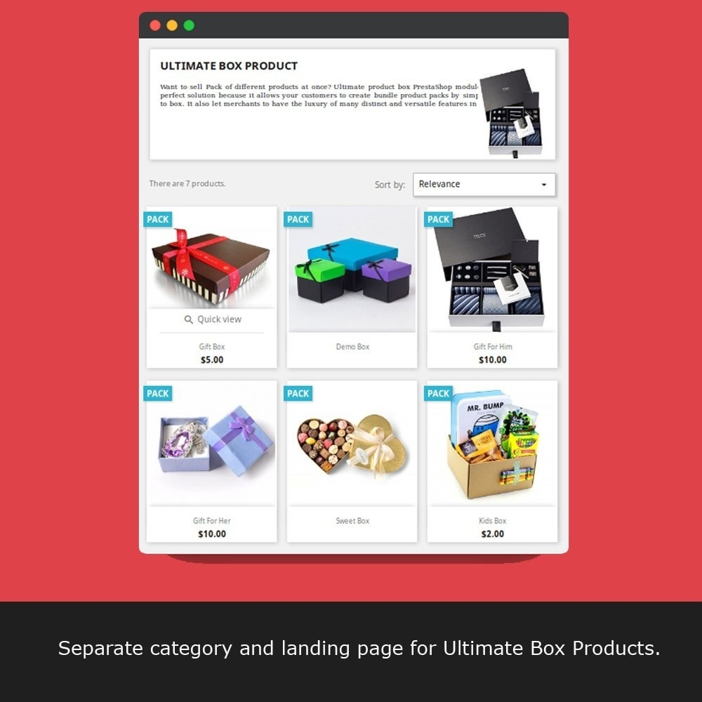 module - Ventes croisées & Packs de produits - Ultimate Product Bundle - Mix and Match - 17