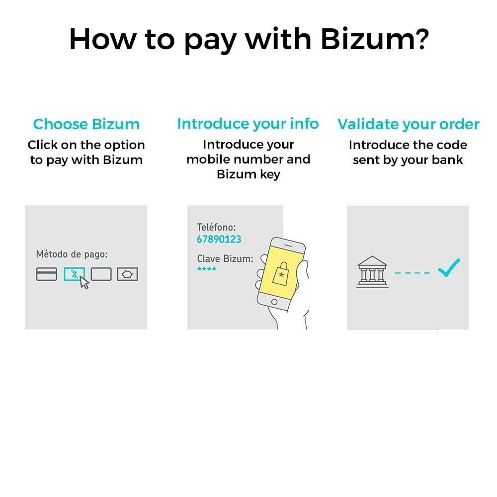 module - Paiement par Carte ou Wallet - Bizum - Mobile payment (with fees and discounts) - 2