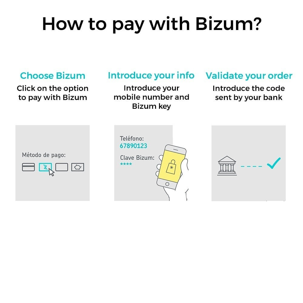 module - Payment by Card or Wallet - Bizum - Mobile payment - 2