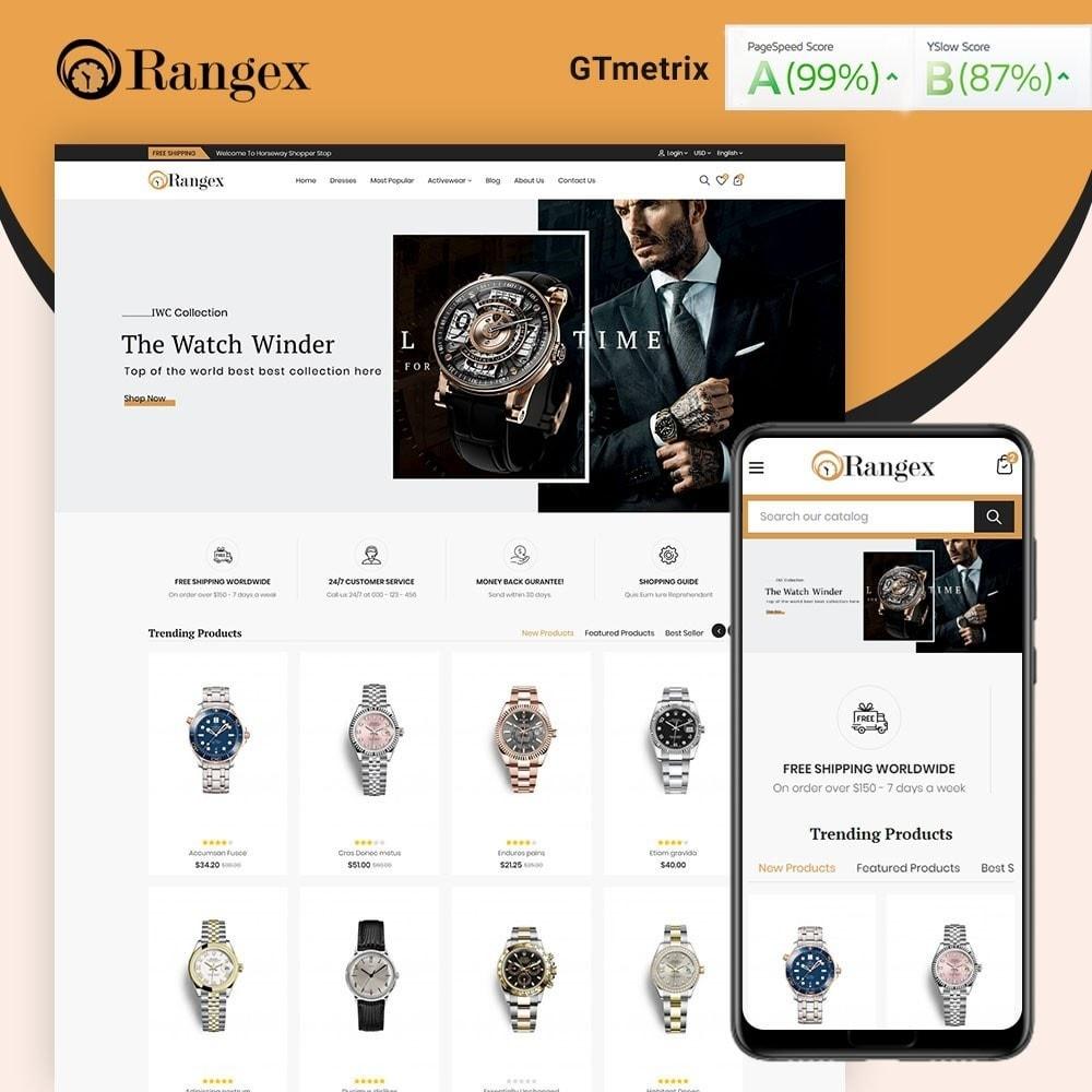 theme - Moda & Calçados - Rangex Watch Store - 1