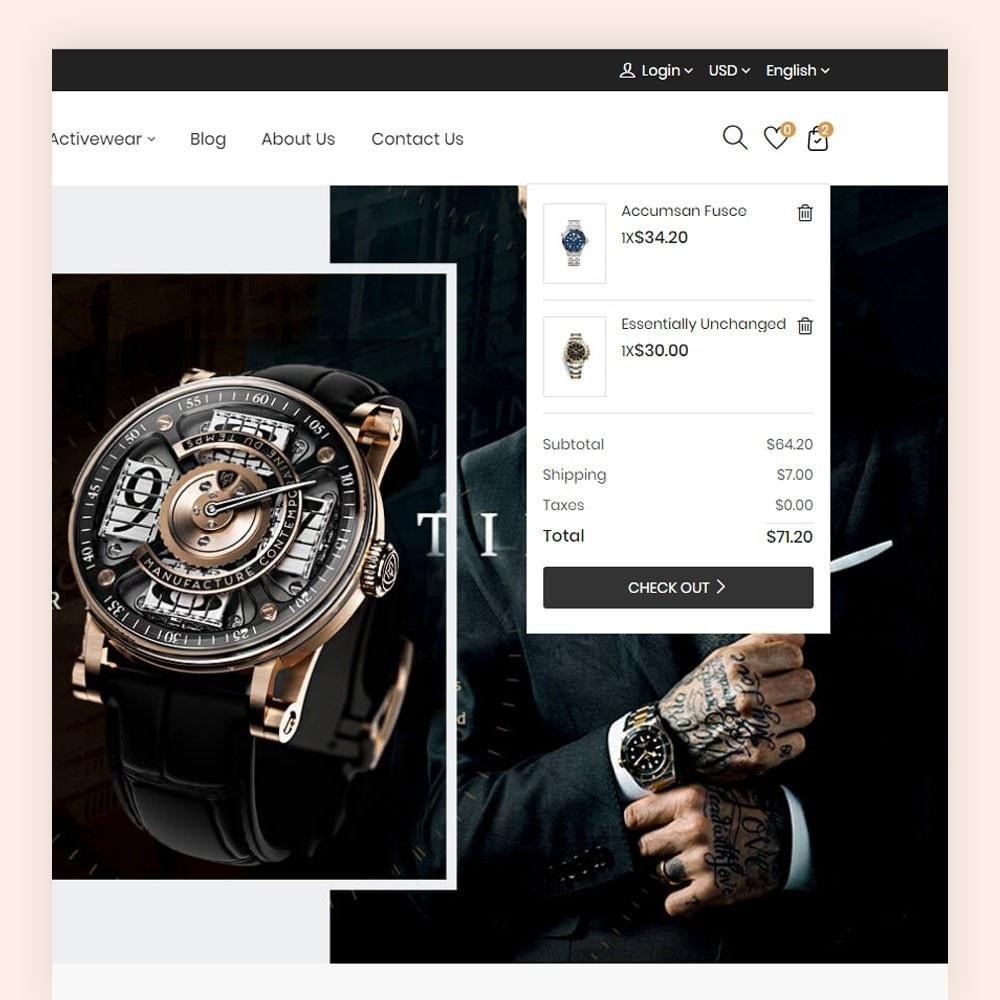 theme - Moda & Calçados - Rangex Watch Store - 4