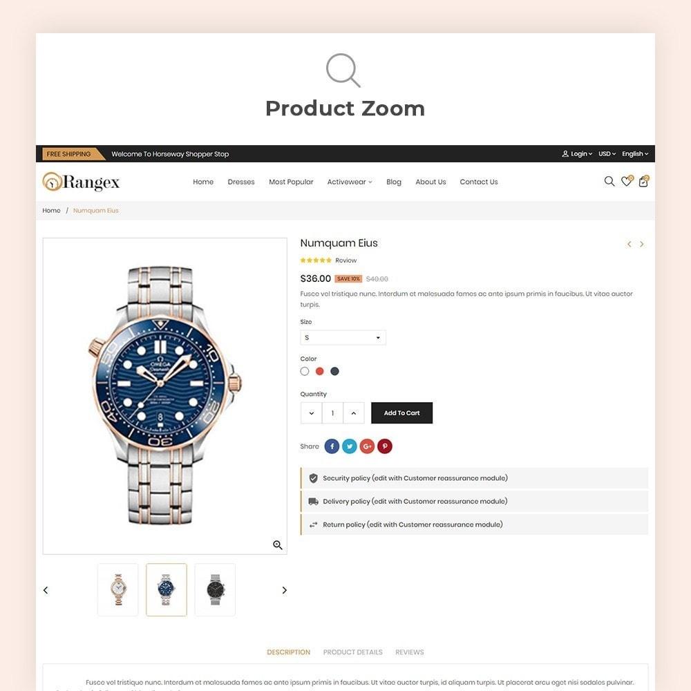 theme - Moda & Calçados - Rangex Watch Store - 8