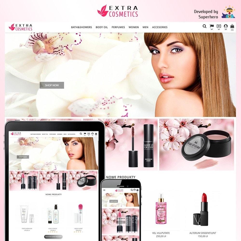 theme - Здоровье и красота - Extra Cosmetics - 1