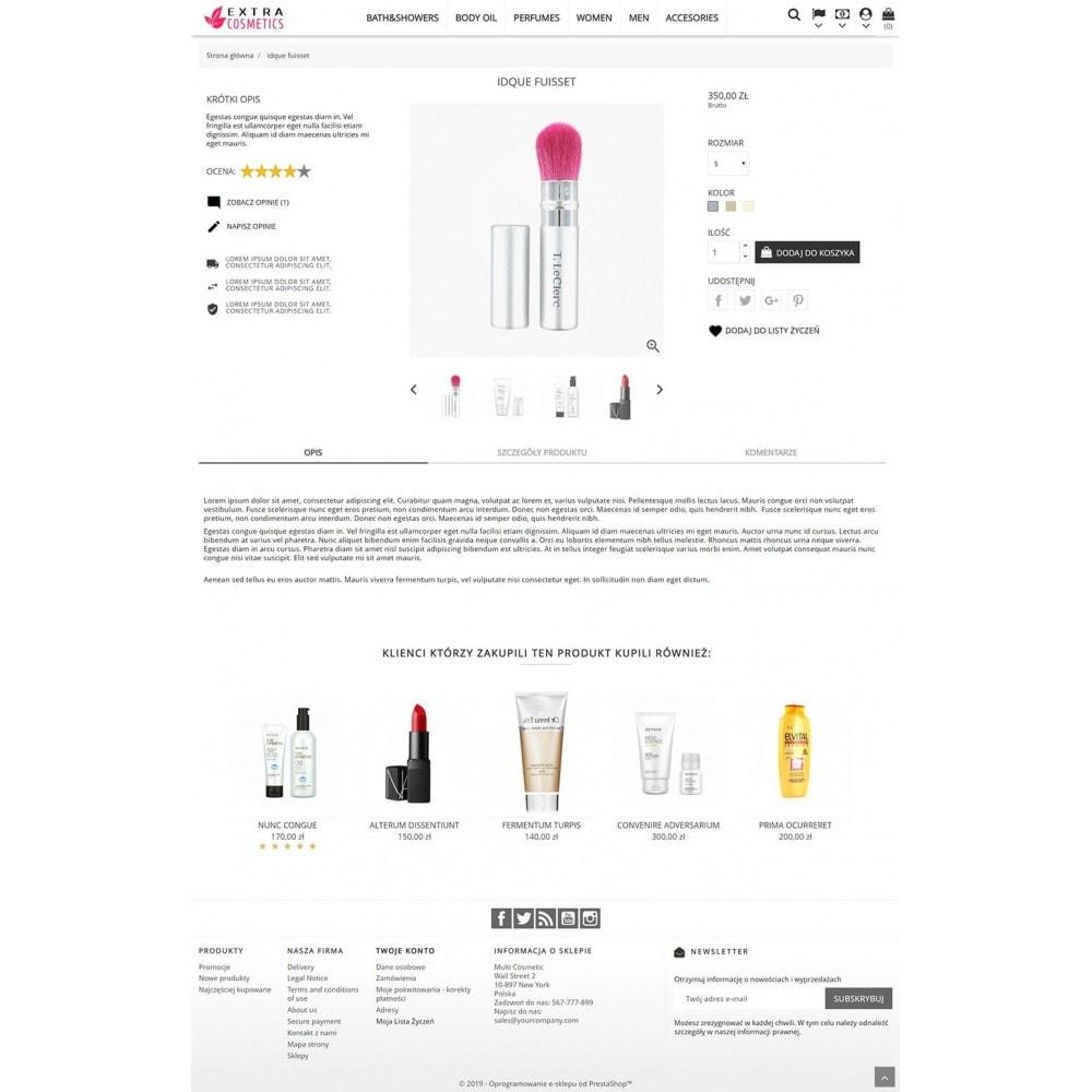 theme - Zdrowie & Uroda - Extra Cosmetics - 4