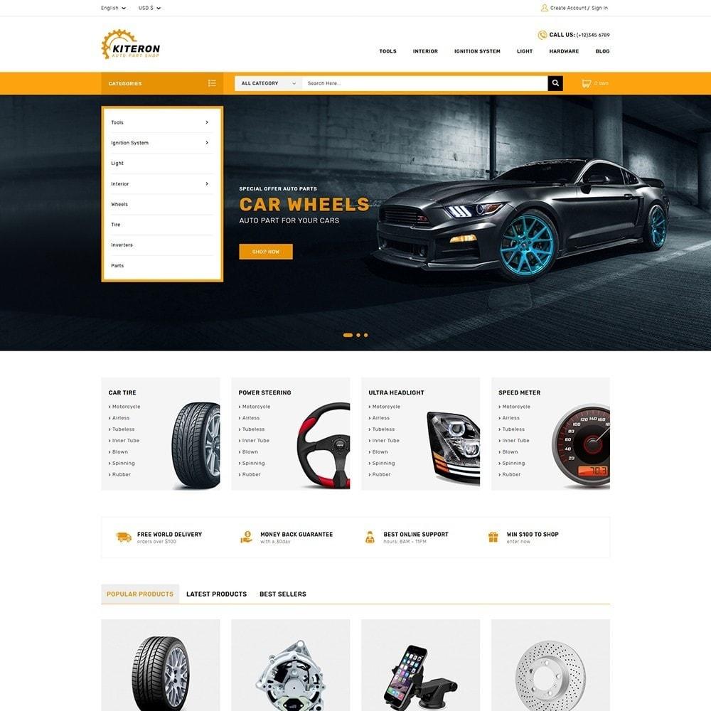 theme - Coches y Motos - Kiteron Automotive & Cars Shop - 2
