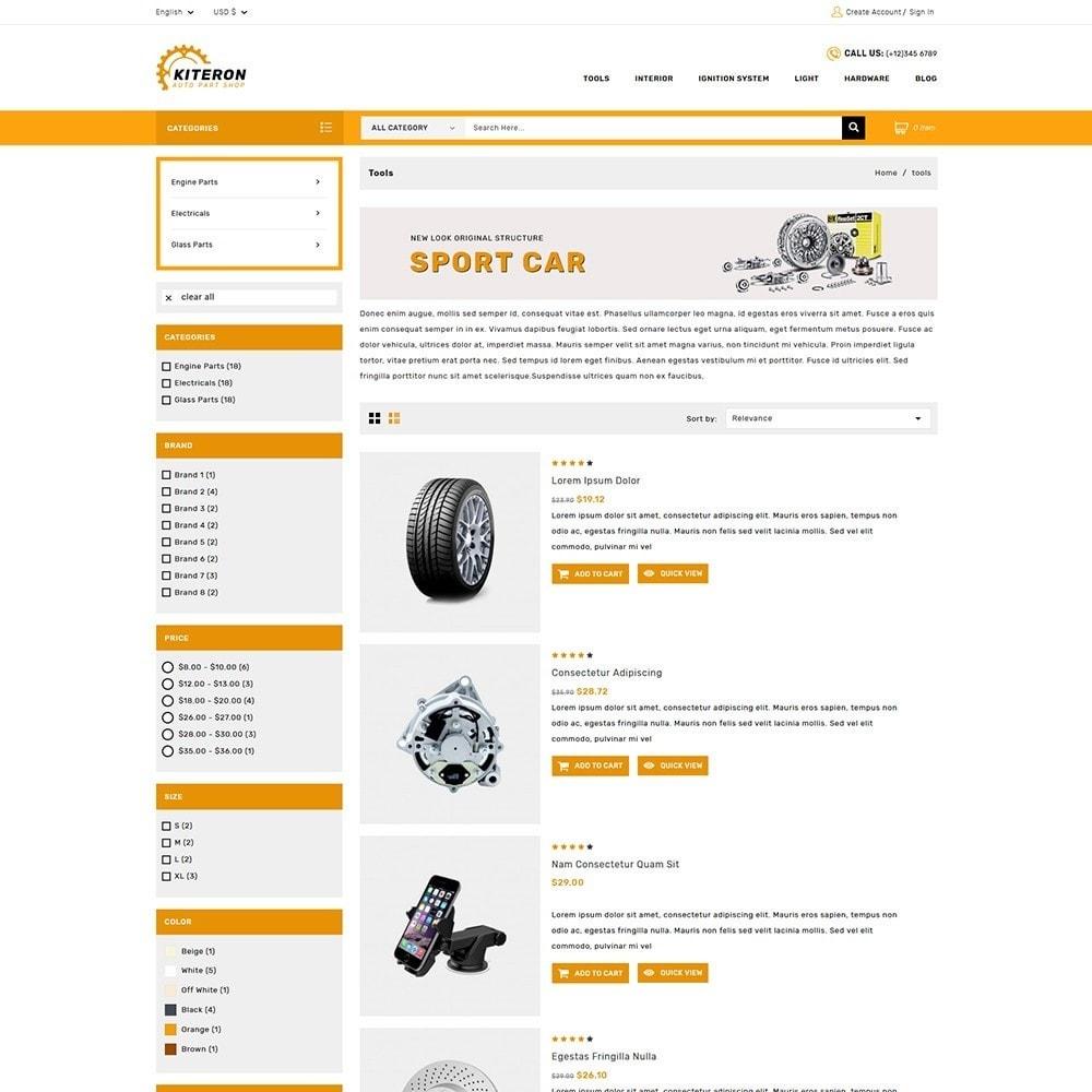 theme - Coches y Motos - Kiteron Automotive & Cars Shop - 4