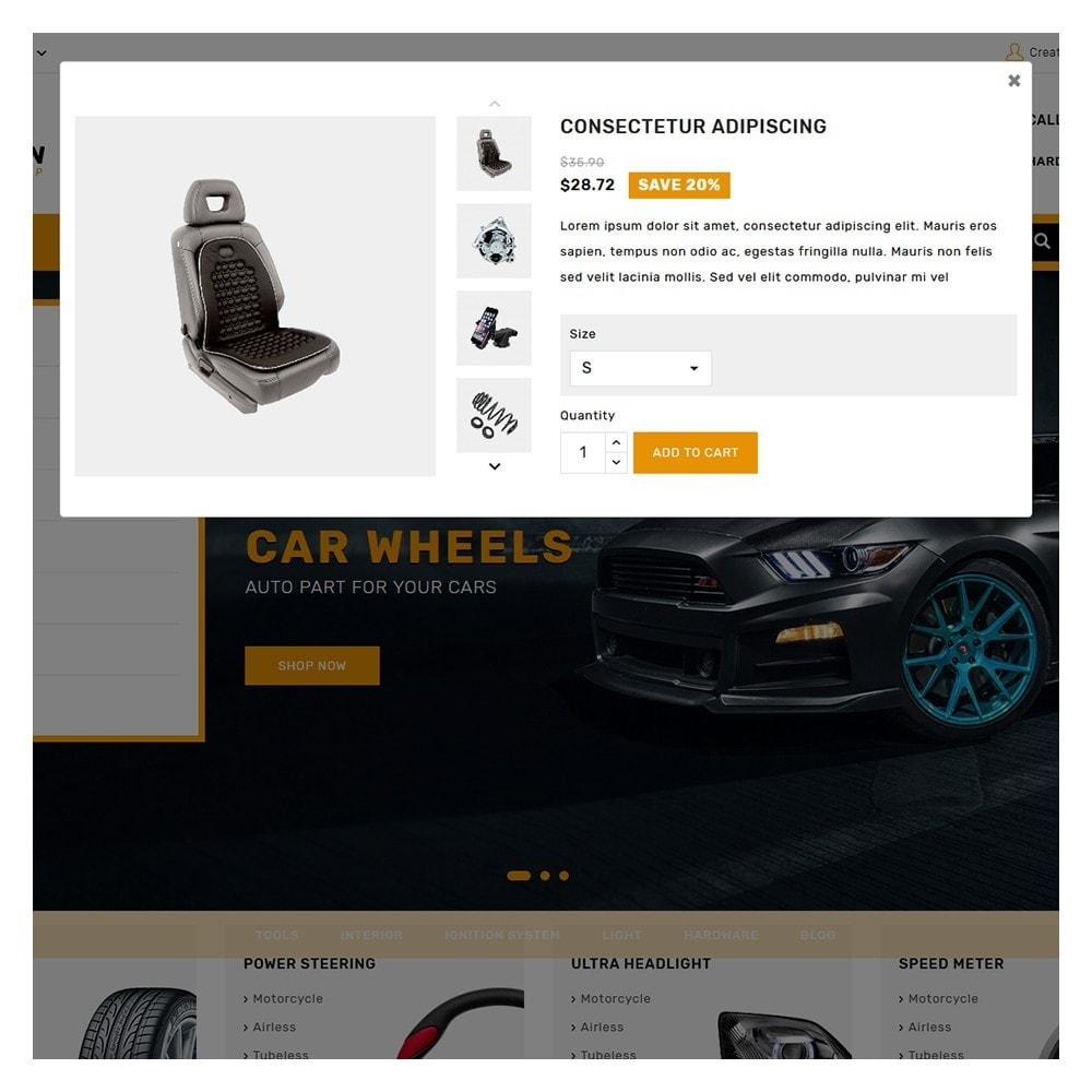 theme - Coches y Motos - Kiteron Automotive & Cars Shop - 9