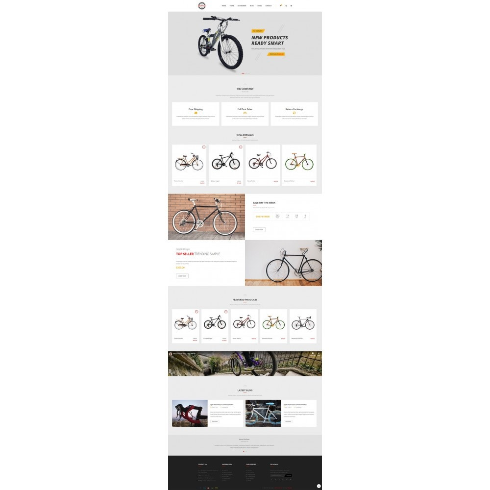 theme - Sports, Activities & Travel - Bicycle Store - 6