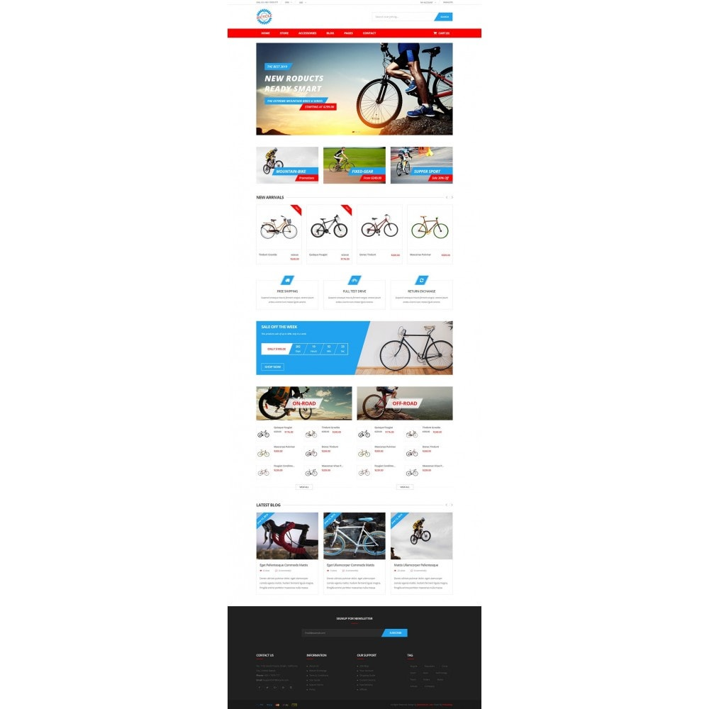 theme - Sports, Activities & Travel - Bicycle Store - 7