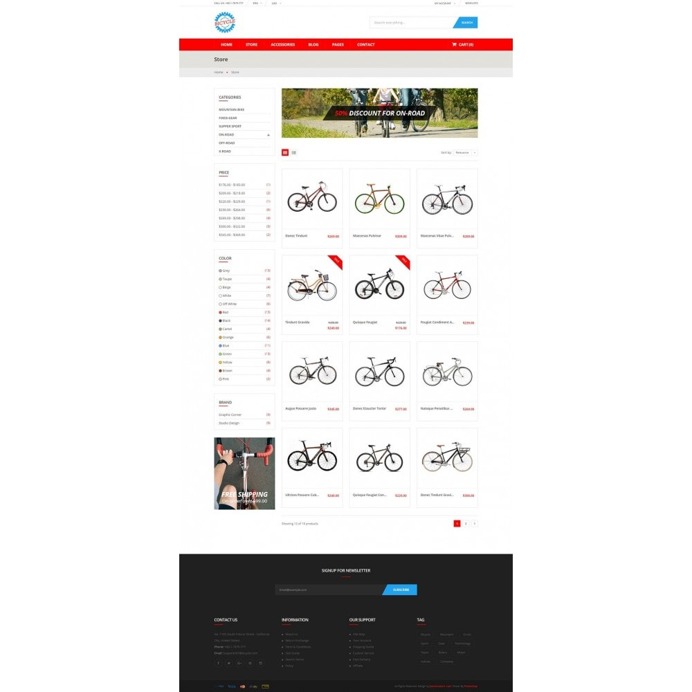 theme - Sports, Activities & Travel - Bicycle Store - 8