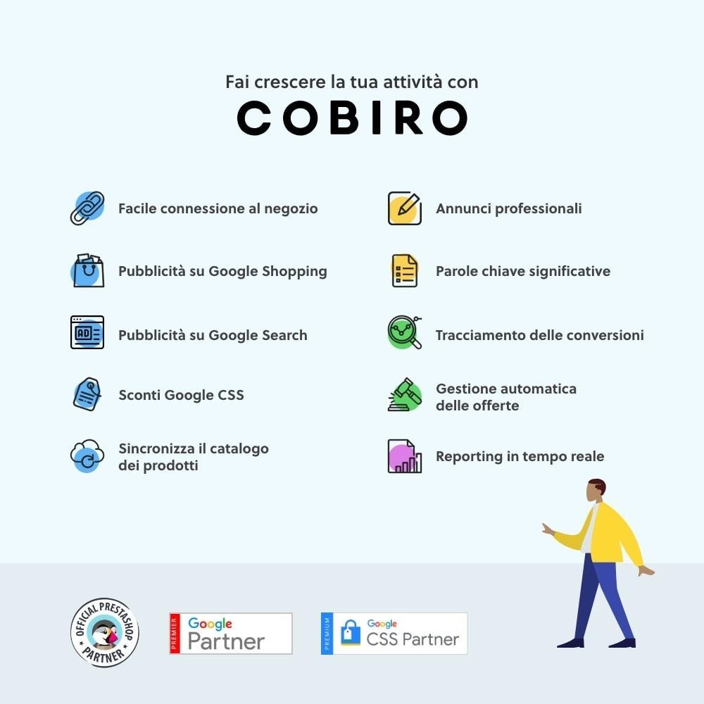 module - Indicizzazione a pagamento (SEA SEM) & Affiliazione - Cobiro - Marketing automatico di Google - 1