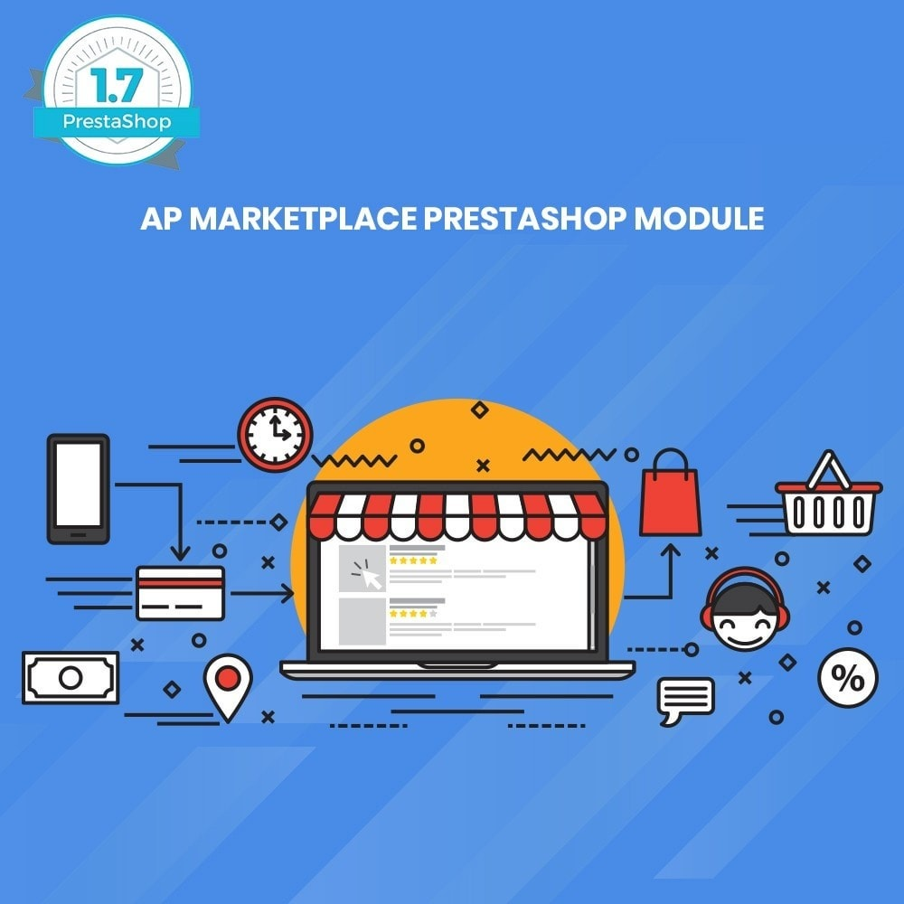 module - Marktplaats (marketplaces) - Ap Marketplace Multivendor Marketplace Module - 1