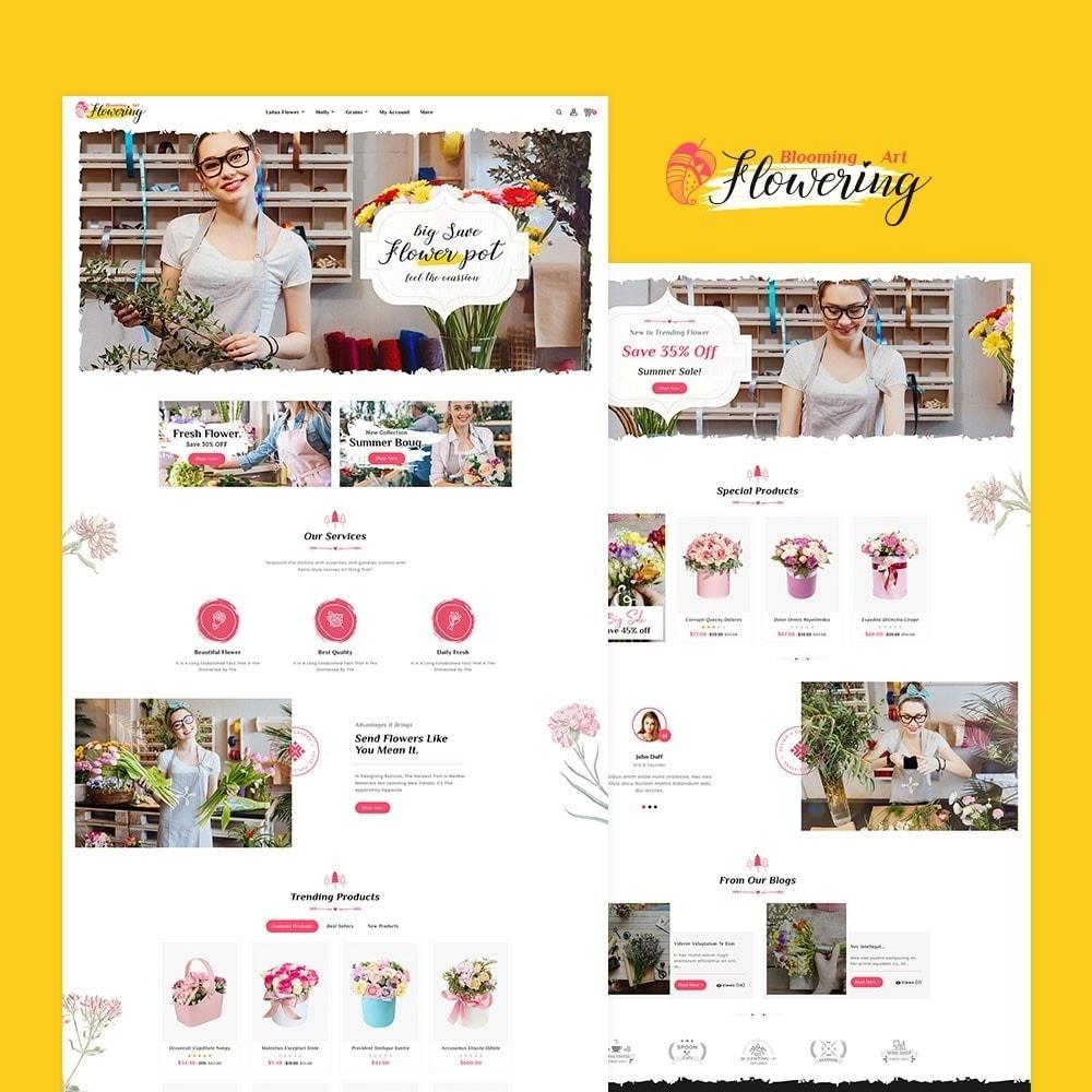 theme - Geschenke, Blumen & Feiern - Flowering - Blooming Art - 2