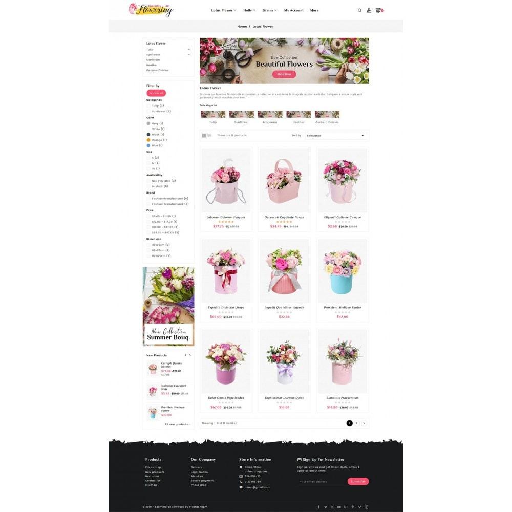 theme - Подарки, Цветы и праздничные товары - Flowering - Blooming Art - 3