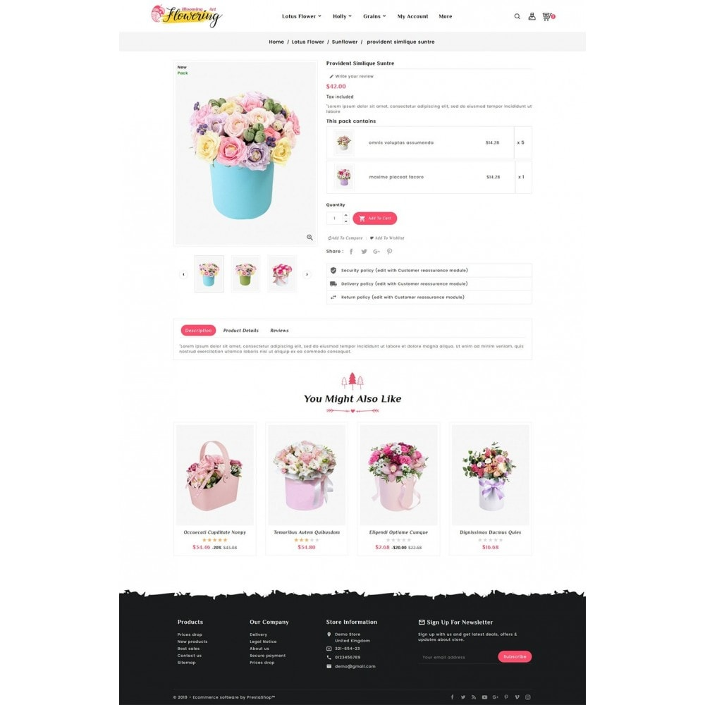 theme - Cadeaus, Bloemen & Gelegenheden - Flowering - Blooming Art - 5