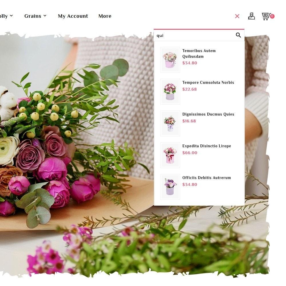 theme - Подарки, Цветы и праздничные товары - Flowering - Blooming Art - 10