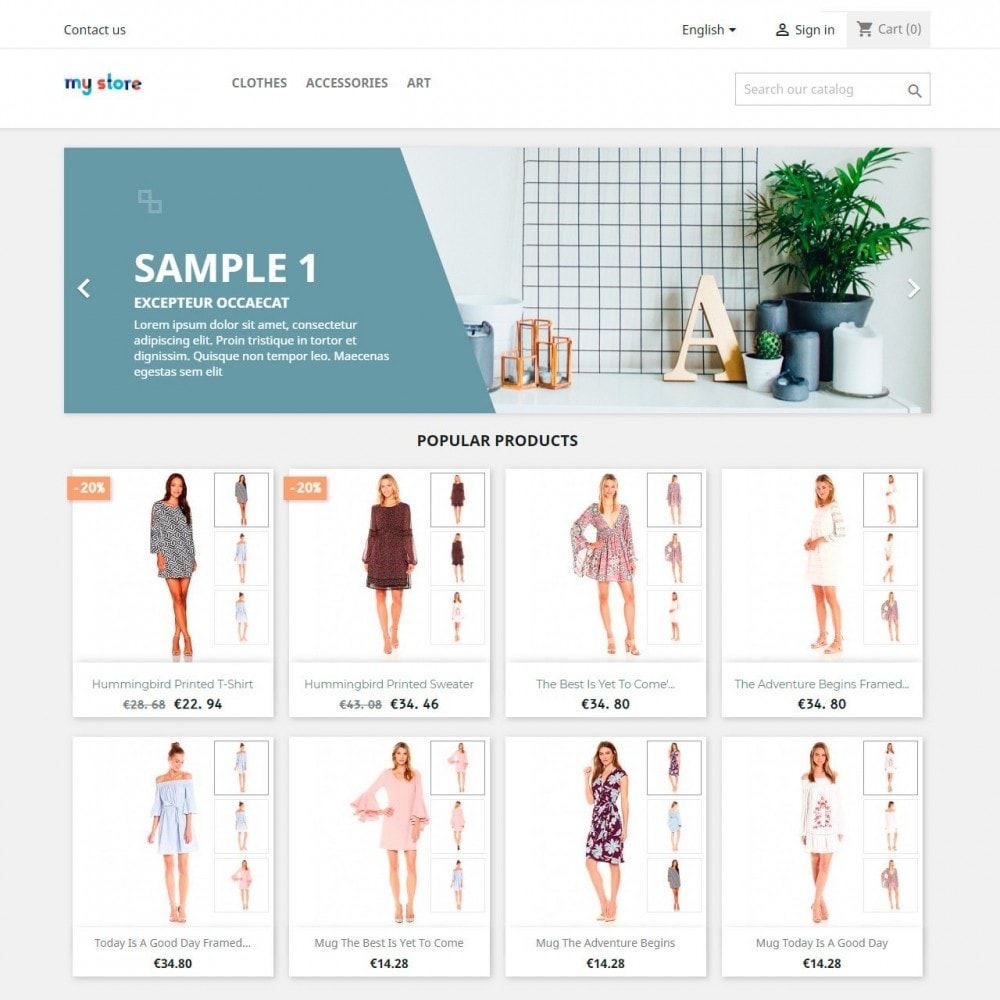 module - Altre informazioni & Product Tab - Gallery Thumbnails On Product List - 2