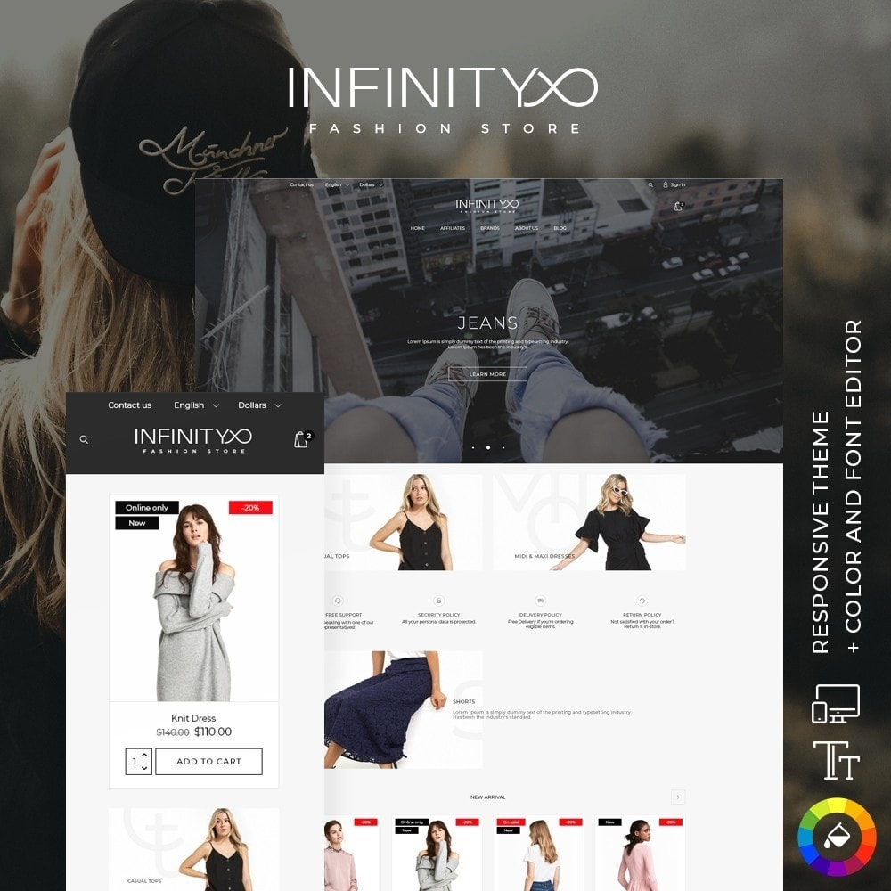 theme - Mode & Chaussures - Infinity Fashion Store - 1