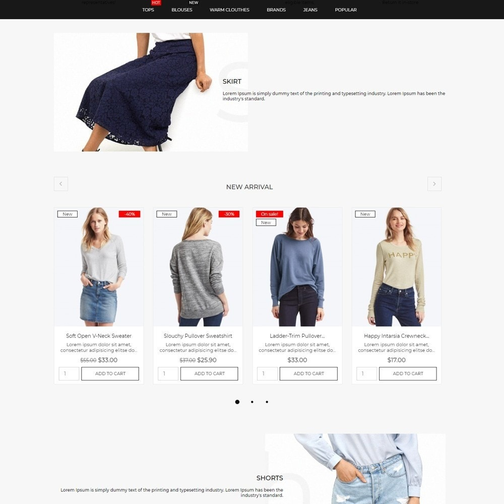 theme - Mode & Chaussures - Infinity Fashion Store - 3