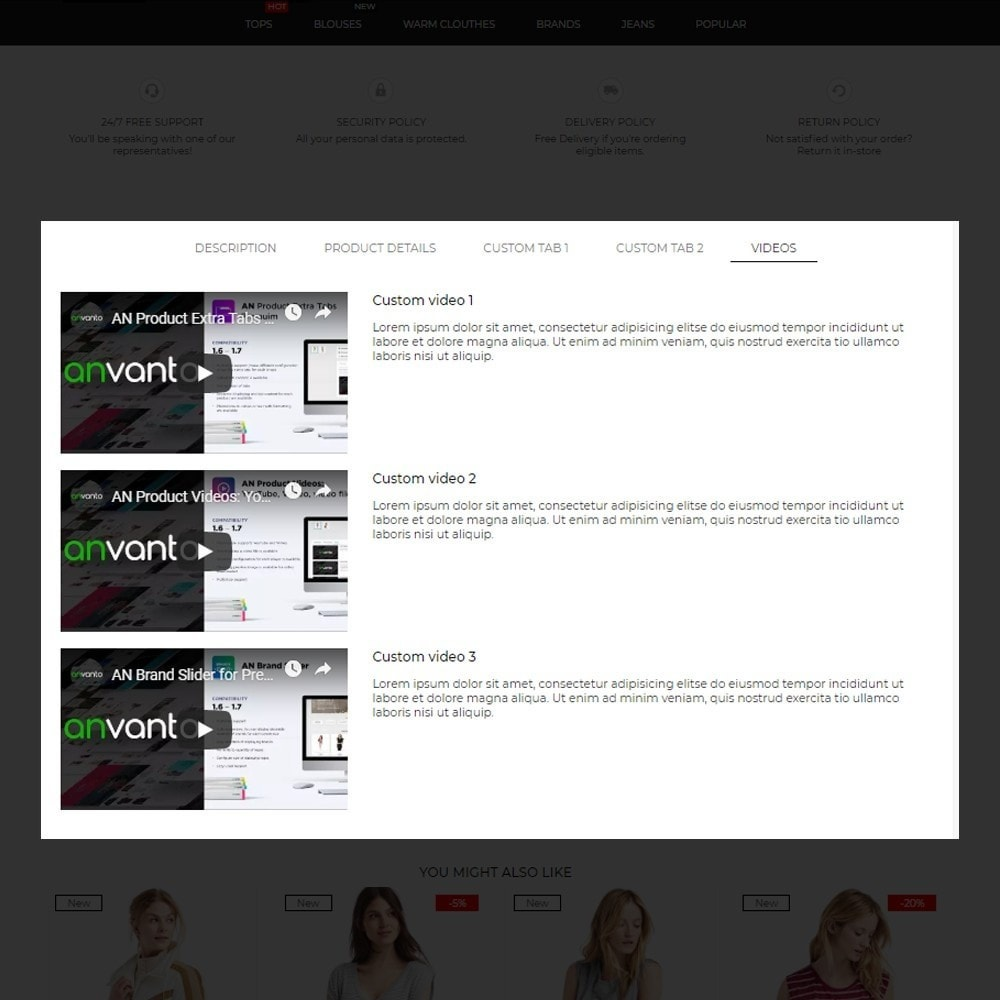 theme - Mode & Chaussures - Infinity Fashion Store - 9