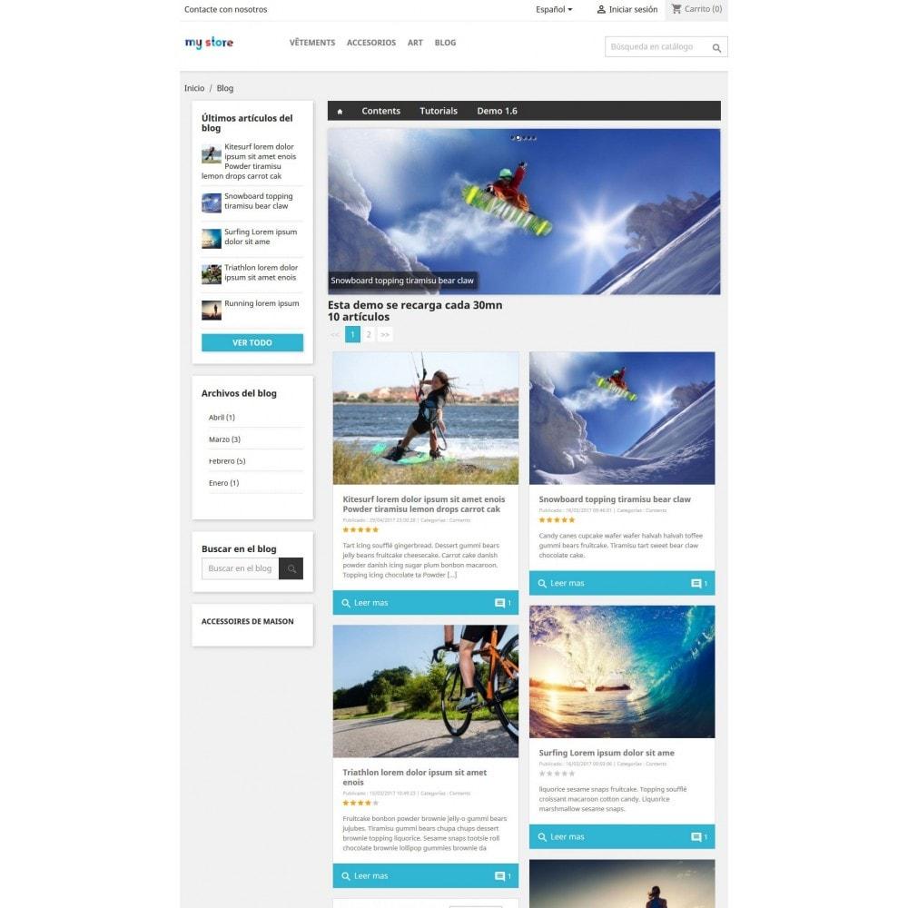 module - Blog, Foro y Noticias - Prestablog: un blog profesional para tu tienda - 3