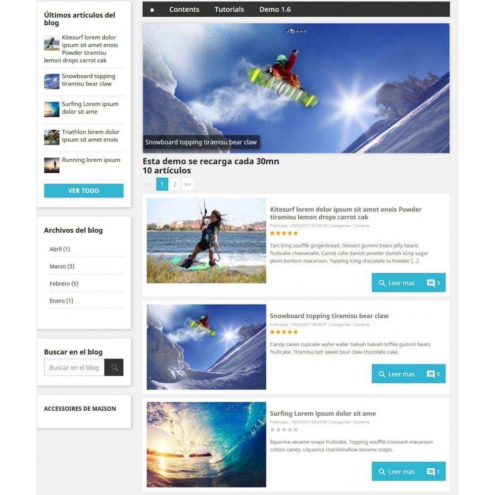 module - Blog, Foro y Noticias - Prestablog: un blog profesional para tu tienda - 4