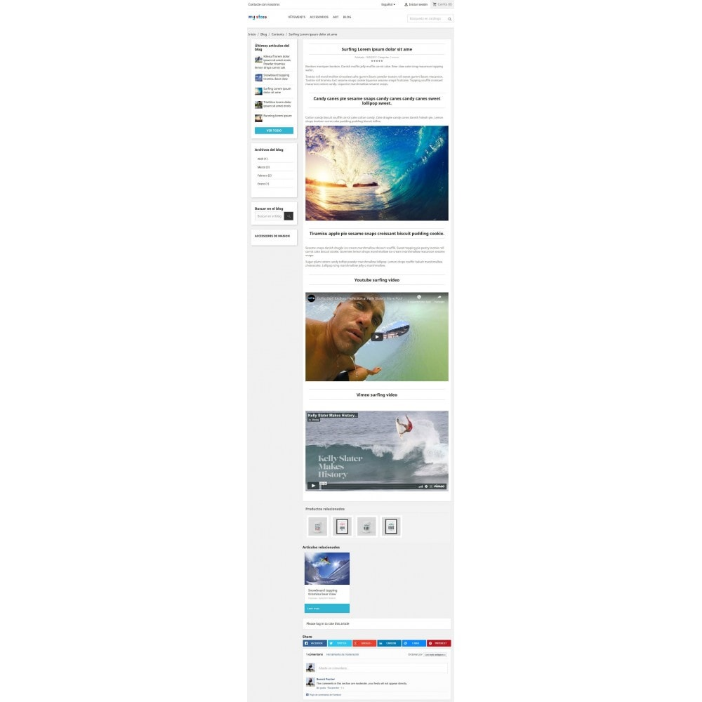 module - Blog, Foro y Noticias - Prestablog: un blog profesional para tu tienda - 6