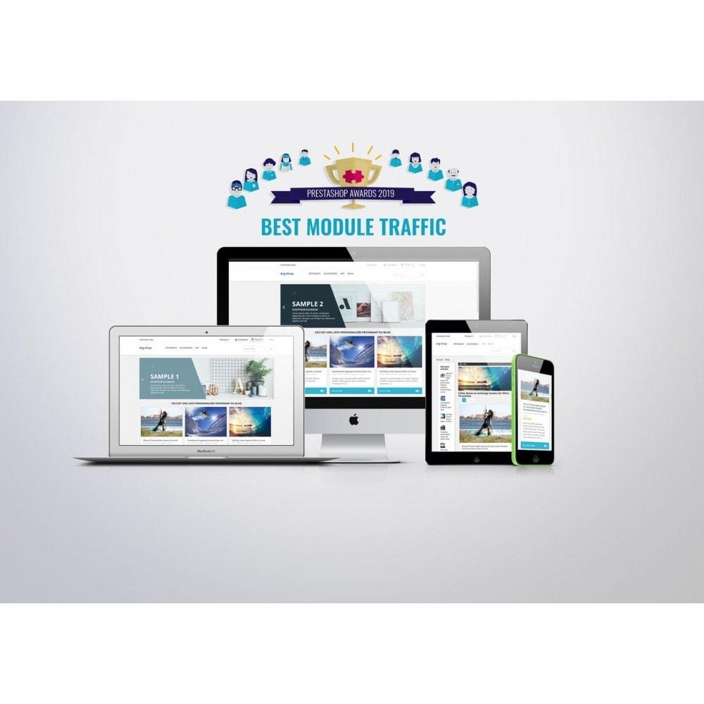 module - Blog, Forum & News - Professionelles Blog Modul - 1
