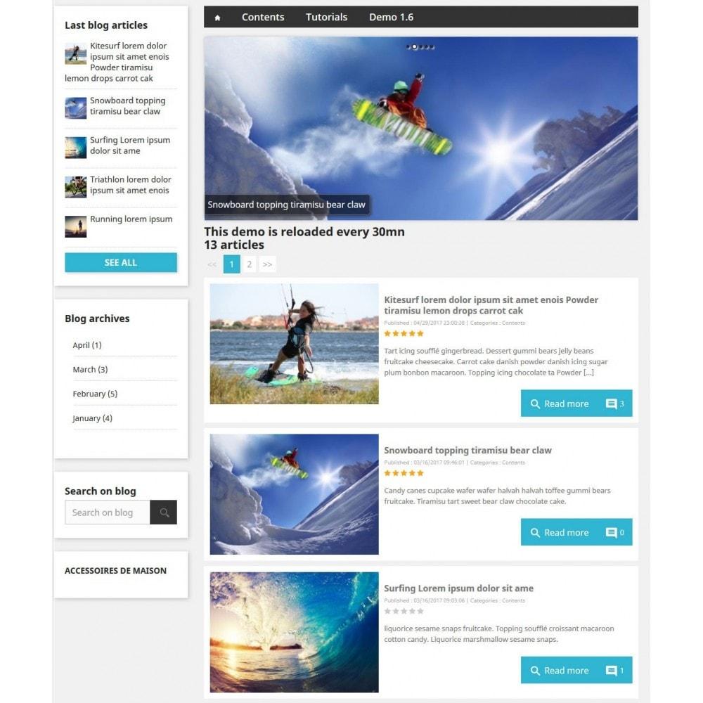 module - Blog, Forum & News - Professionelles Blog Modul - 4