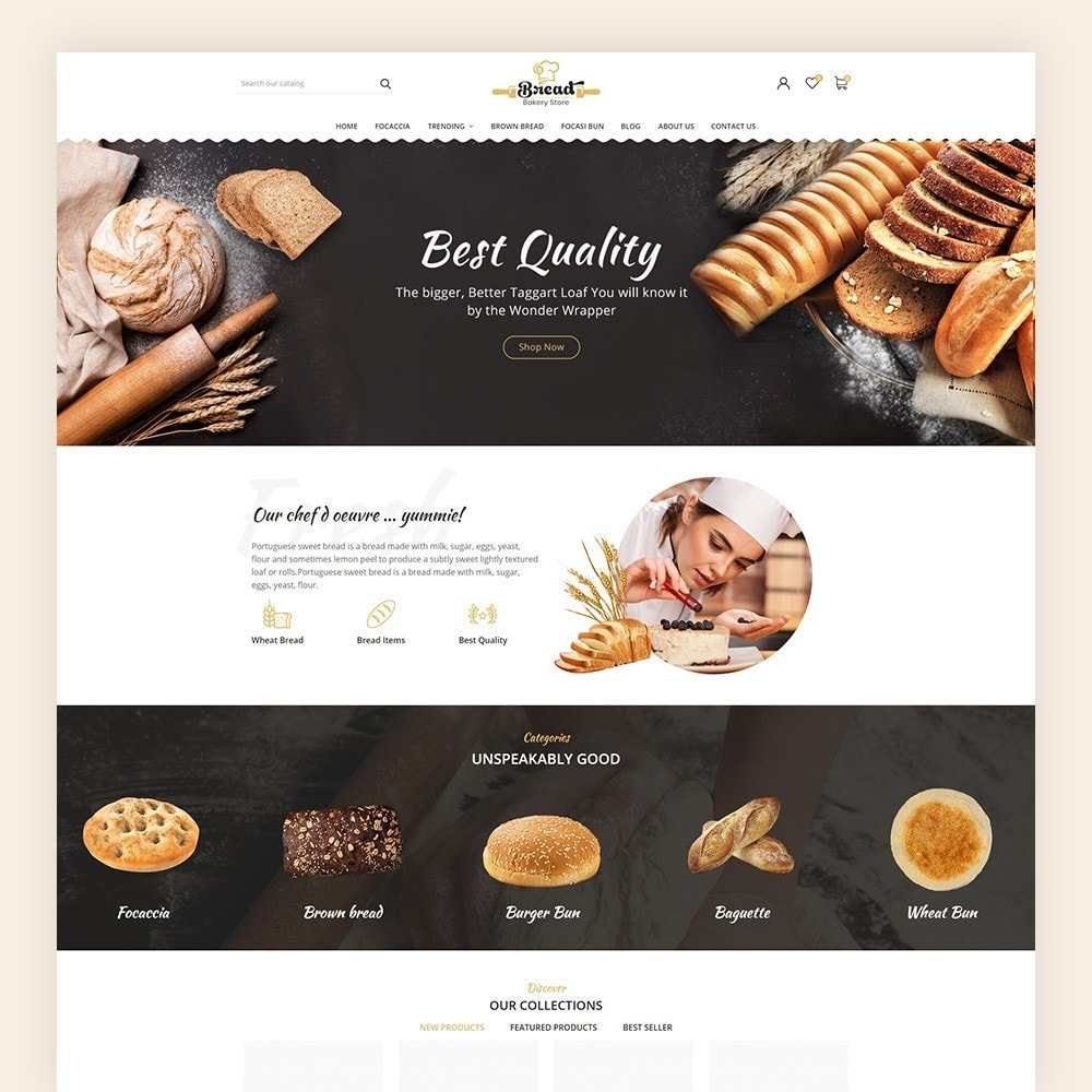 theme - Alimentation & Restauration - Bread bakery Store - 3