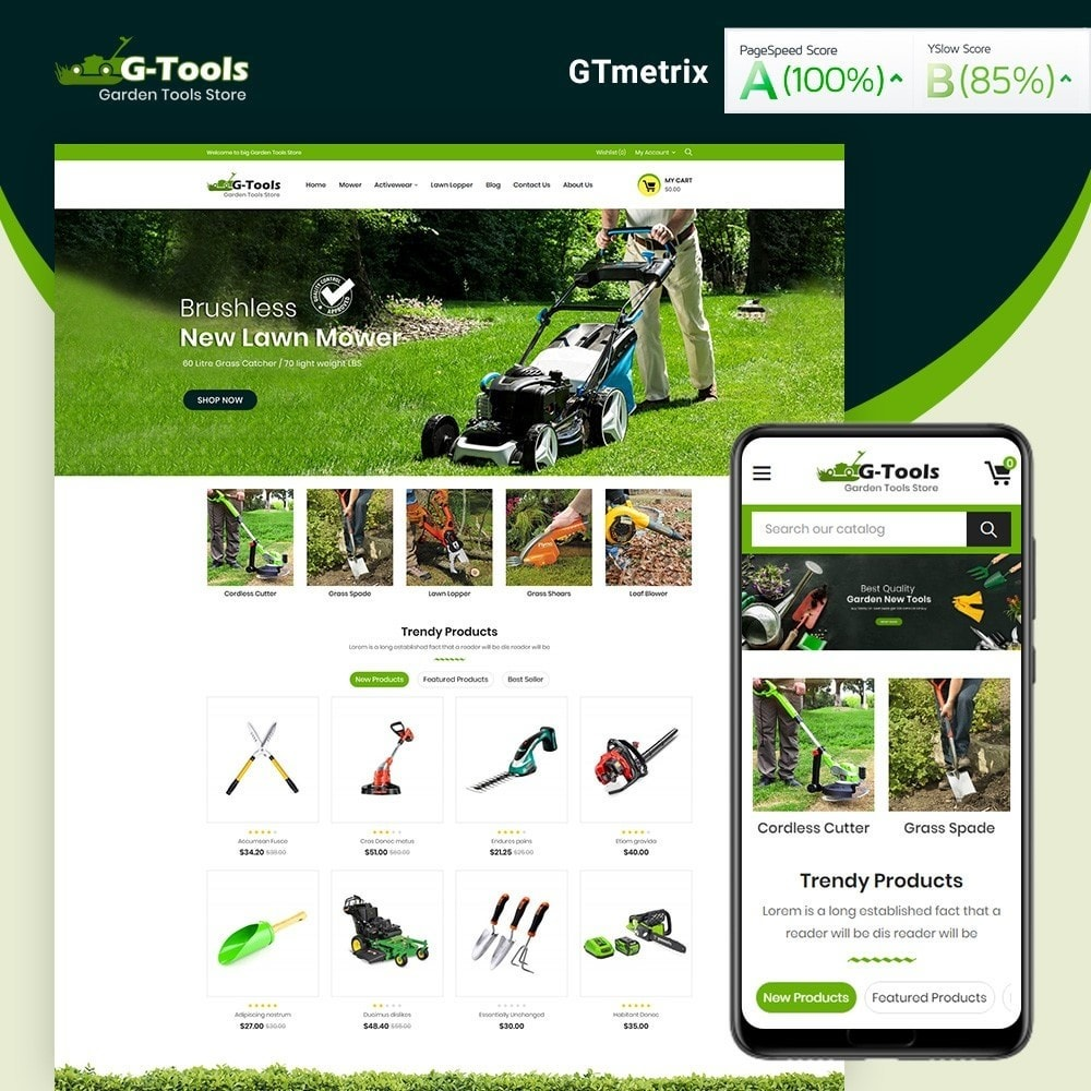 theme - Dom & Ogród - Gtools Garden Tools Store - 1