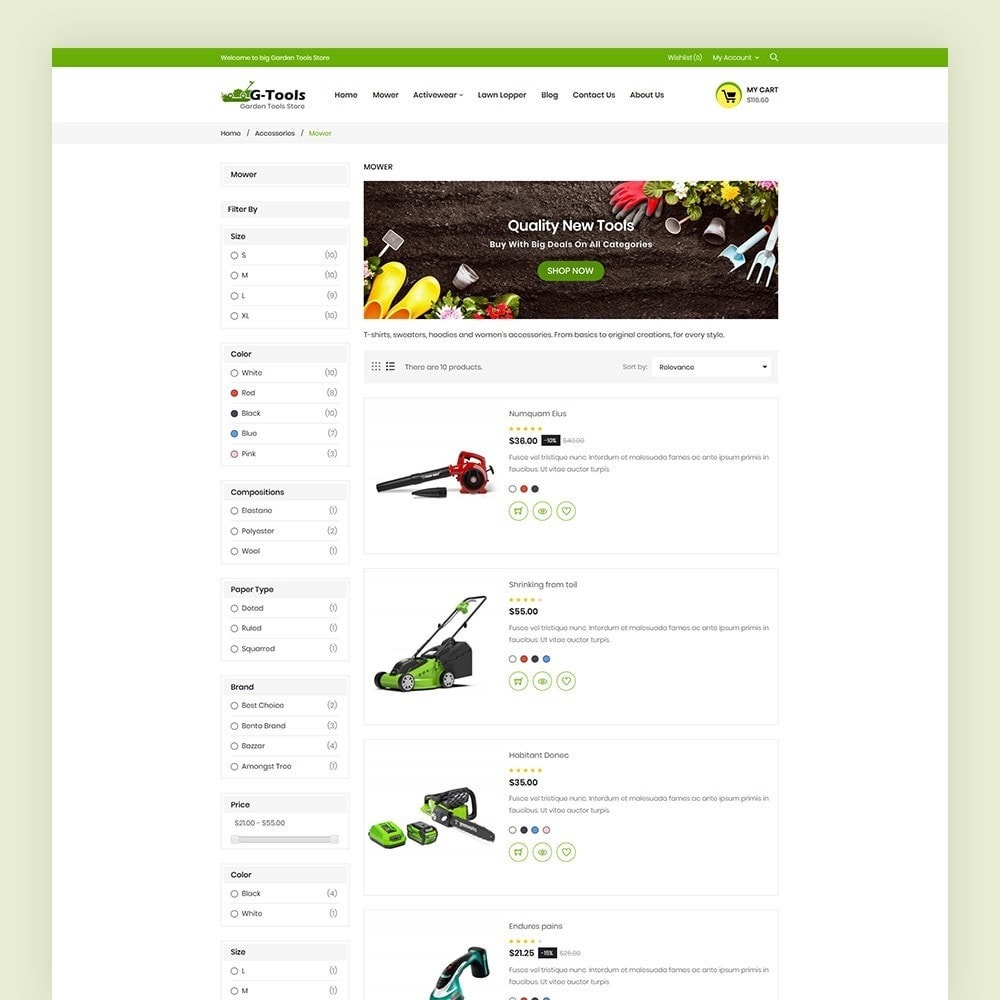 theme - Dom & Ogród - Gtools Garden Tools Store - 6