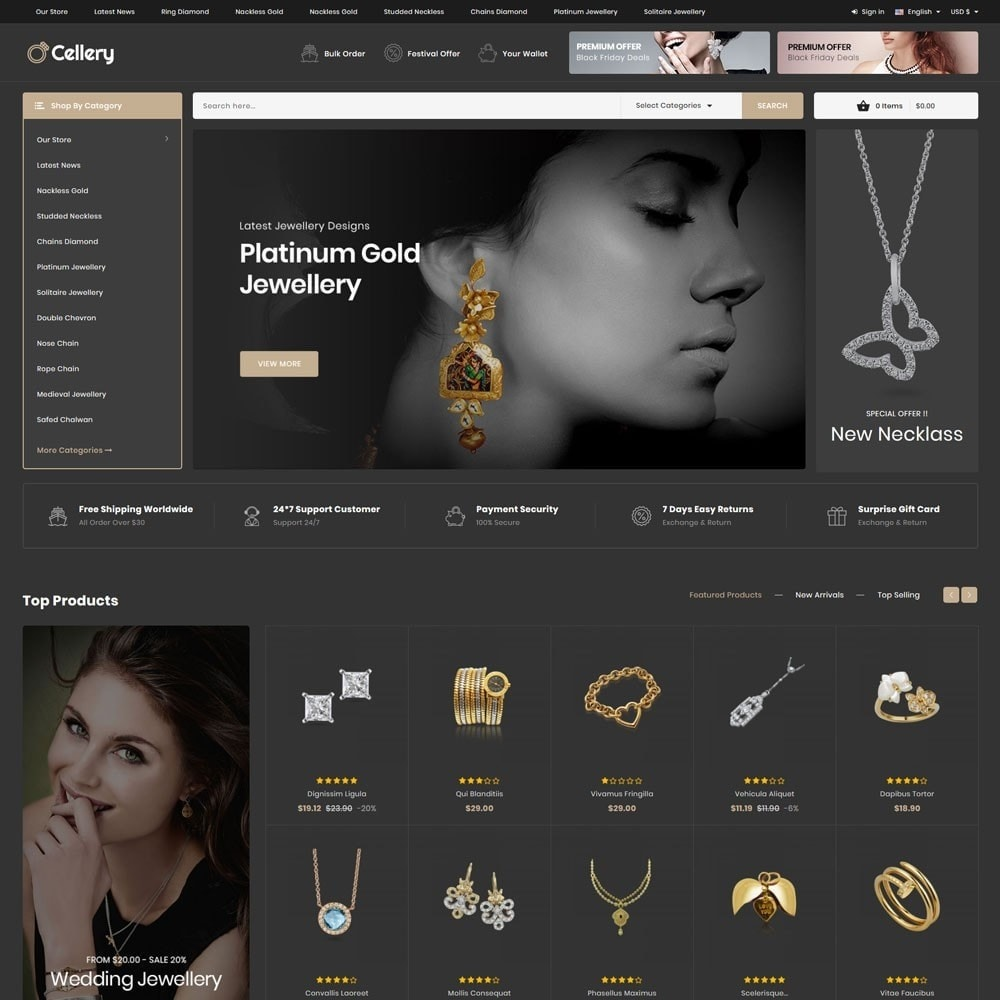 theme - Jewelry & Accessories - Cellery - The Mega Jewellery Store - 4