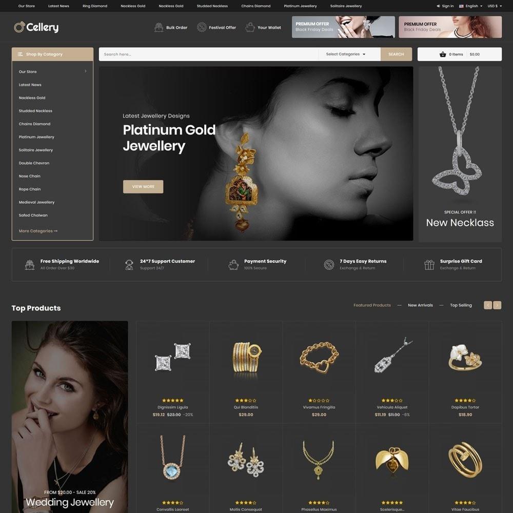 theme - Bijoux & Accessoires - Cellery - La Mega Bijouterie - 5
