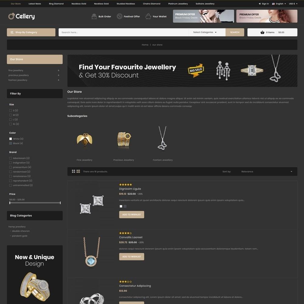 theme - Bijoux & Accessoires - Cellery - La Mega Bijouterie - 7