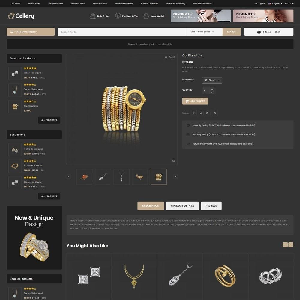 theme - Bijoux & Accessoires - Cellery - La Mega Bijouterie - 8
